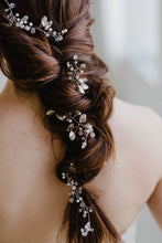 Load image into Gallery viewer, Crystal Bridal Hair Vine