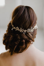 Load image into Gallery viewer, Gold Bridal Headpiece