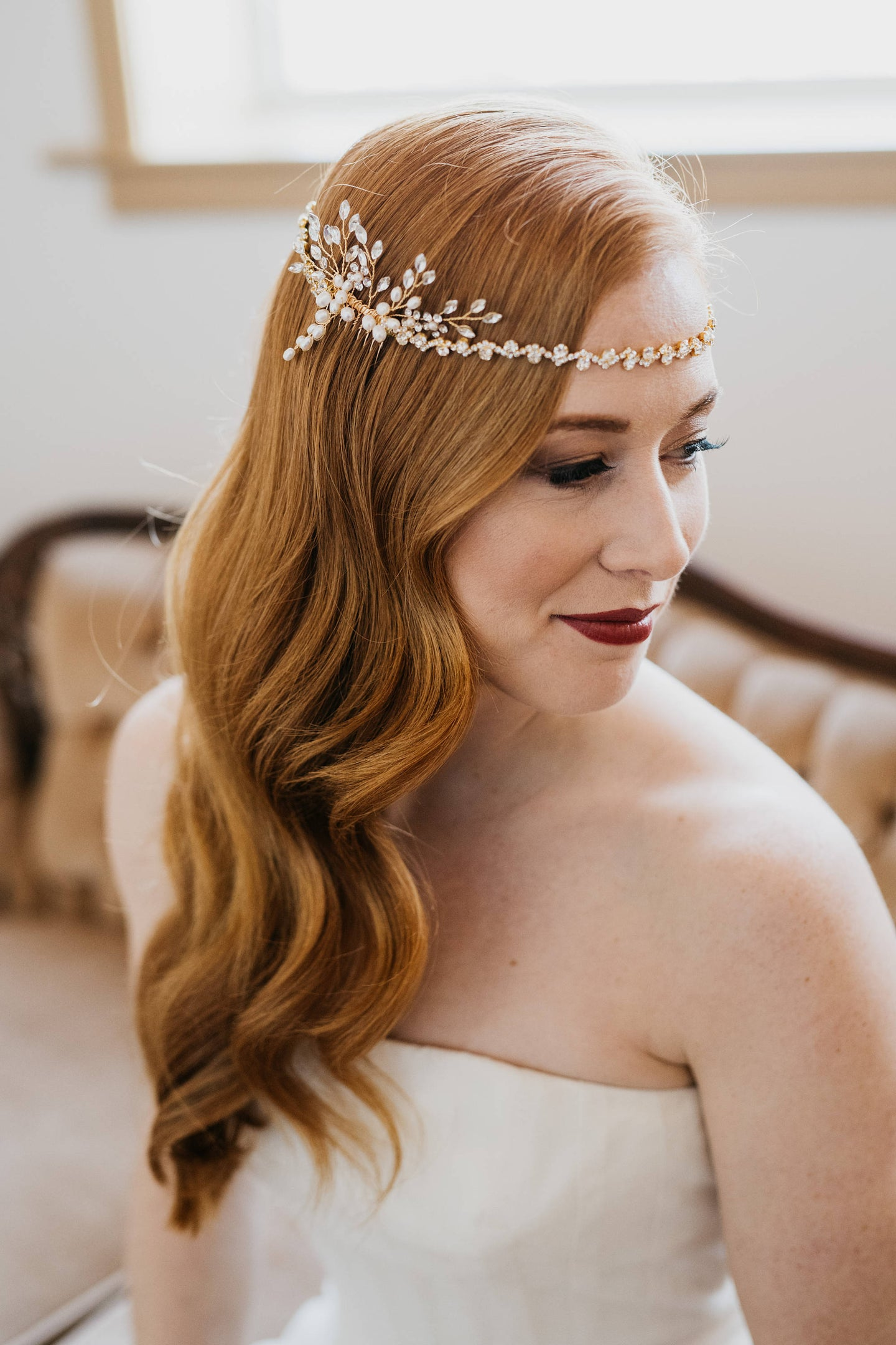 Bridal Hair Chain