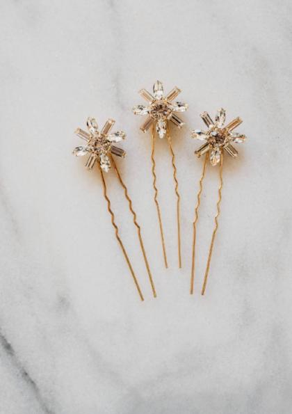 Crystal Bridal Hair Pin
