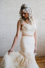 Load image into Gallery viewer, Rose Gold Bridal Sash