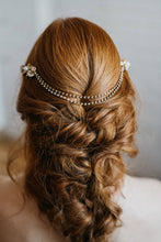 Load image into Gallery viewer, Wedding Hair Chain