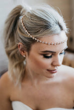 Load image into Gallery viewer, Rose Gold Bridal Halo