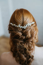 Load image into Gallery viewer, Gold Wedding Hair Piece