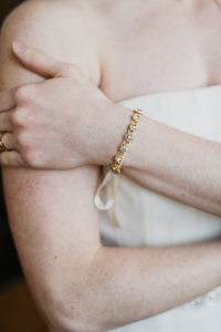 Crystal Bridal Cuff