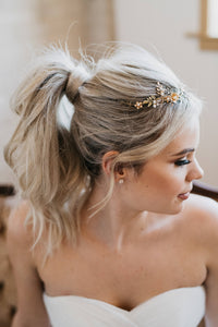 Gold Bridal Headpiece