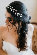 Load image into Gallery viewer, Rose Gold Leaf Bridal Headband