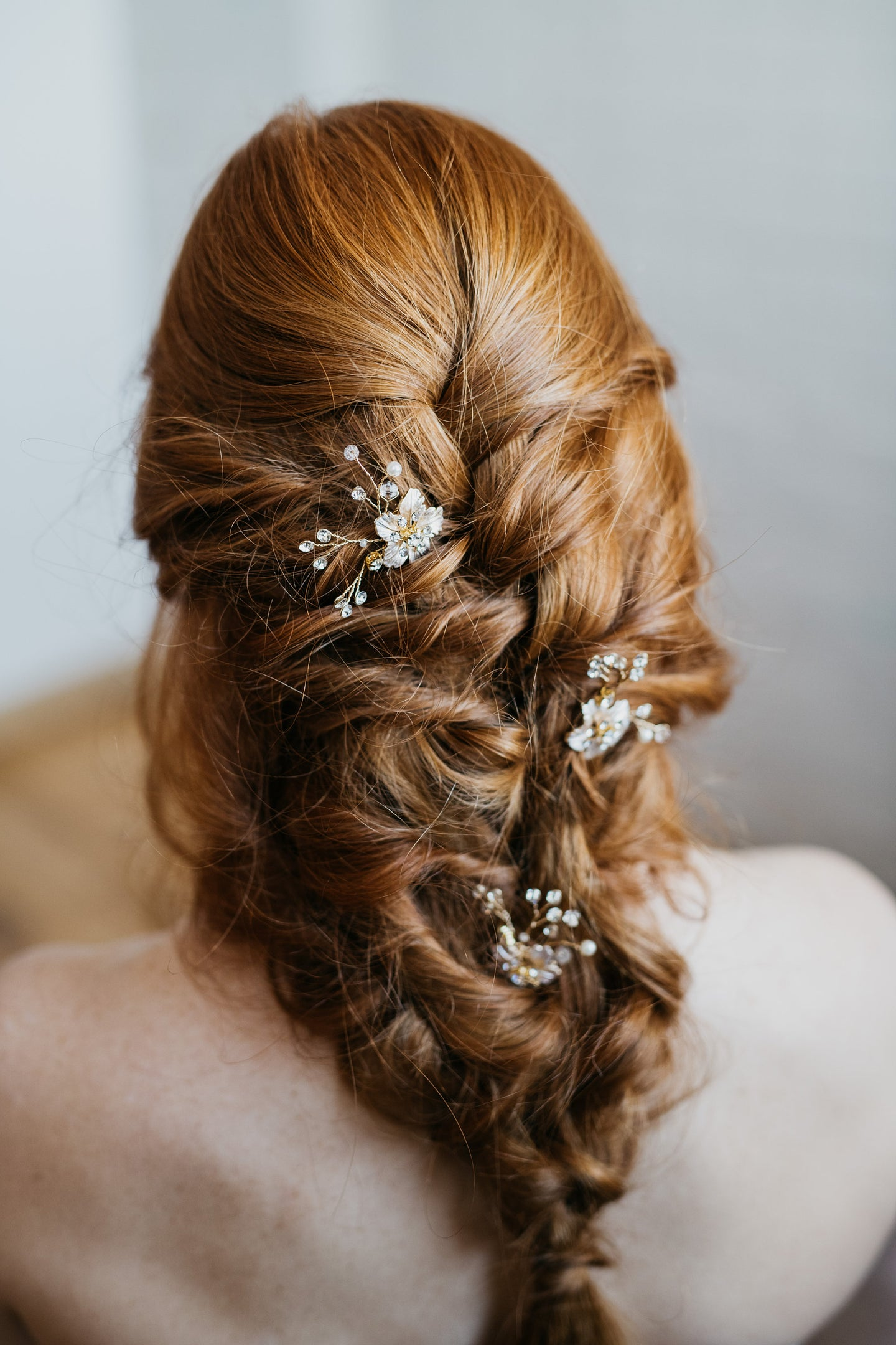 Crystal Hair Pin
