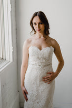 Load image into Gallery viewer, Rose Gold Crystal Bridal Sash