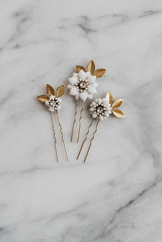 Flower Hair Pin