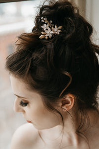 Gold Bridal Hair Pin
