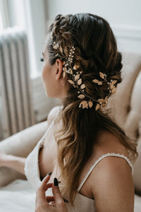 Gold Leaf Hairpiece