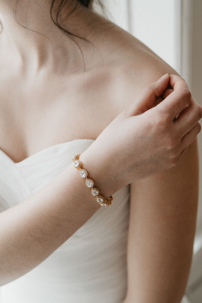 Gold Wedding Bracelet