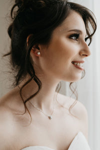 Silver Bridal Necklace