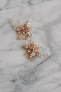 Gold Hair Comb