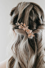 Load image into Gallery viewer, Rose Gold Hair Comb