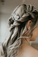 Load image into Gallery viewer, Silver Bridal Hair Pin