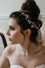 Load image into Gallery viewer, Rose Gold Wedding Earrings