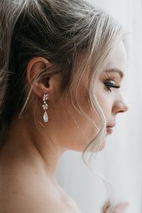 Gold Bridal Earrings