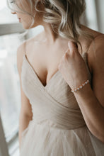 Load image into Gallery viewer, Rose Gold Wedding Bracelet