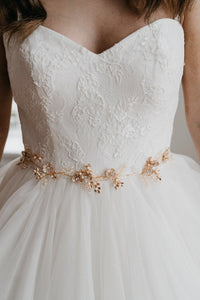 Gold Bridal Belt