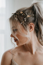 Load image into Gallery viewer, Gold Leaf Headpiece