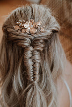 Load image into Gallery viewer, Gold Bridal Hair Comb