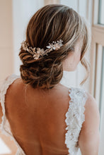 Load image into Gallery viewer, Crystal Bridal Hair Comb