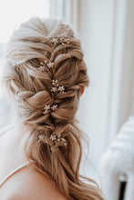 Load image into Gallery viewer, Crystal Hair Pin Set