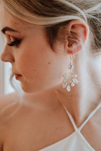 Opal Bridal Earrings