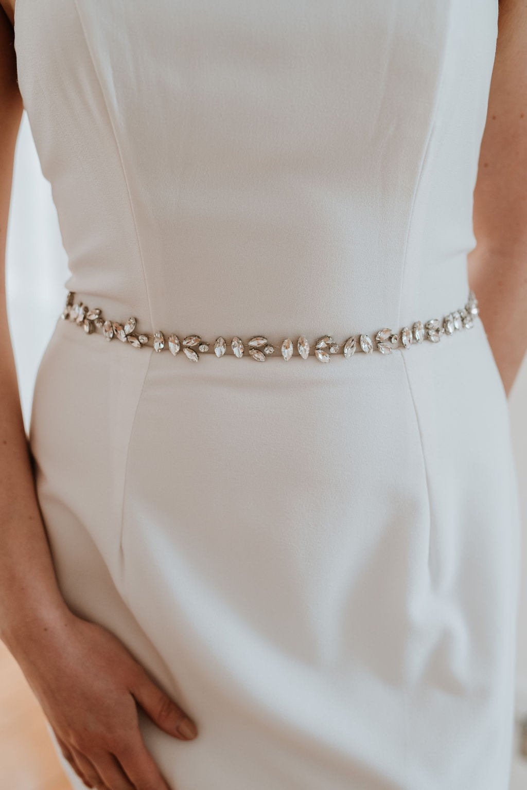 Crystal Bridal Belt
