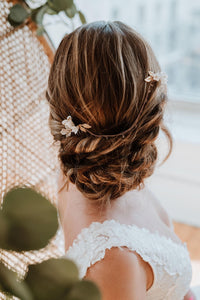Gold Bridal Hair Chain