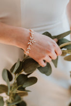 Load image into Gallery viewer, Gold Bridal Cuff