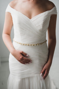 Pearl Wedding Belt