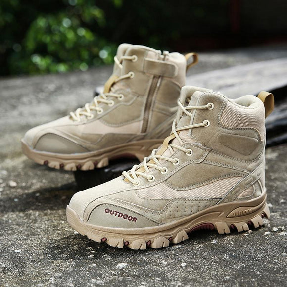 Shawbest - Tactical Military Combat Boots Men Outdoor Boots
