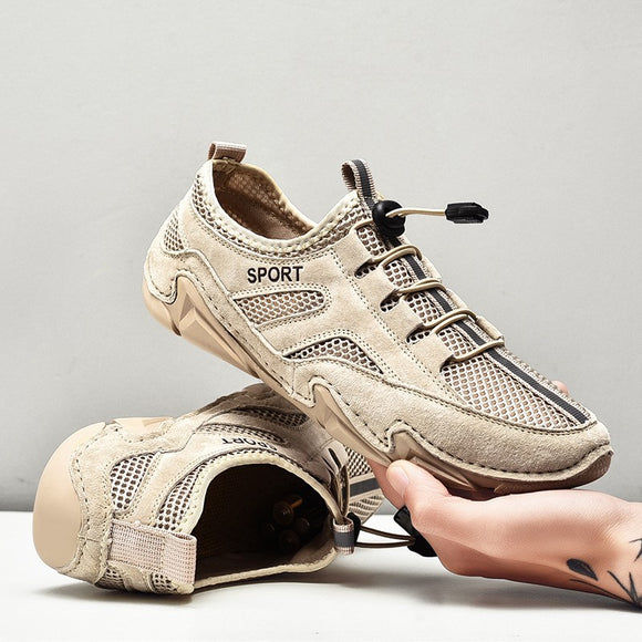 Shawbest-Mens Softable Handmade Breathable Shoes