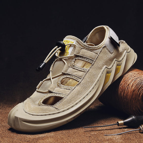 Shawbest-Summer Leather Casual Shoes