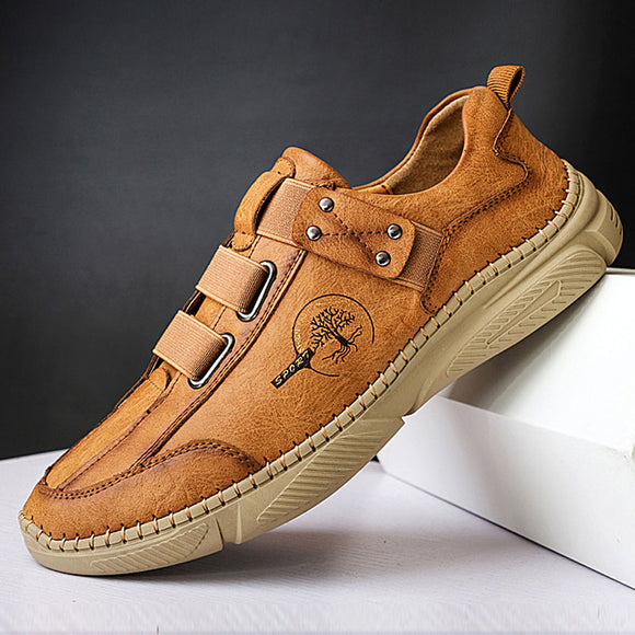 Shawbest-Men Handmade Retro Casual Shoes