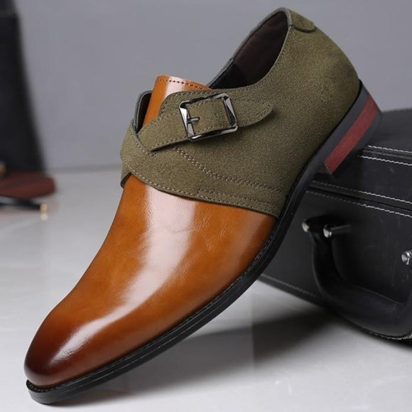 Shawbest-New Fashion Leather Dress Shoes