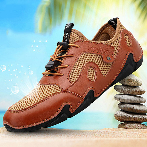 Shawbest-Summer Breathable Mesh Men's Casual Shoes