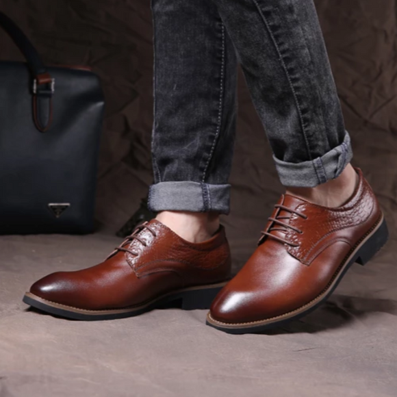 Fashion Leather Formal Business Shoes for Man