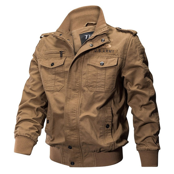 Shawbest-Mens Outdoor Cotton Casual Jackets