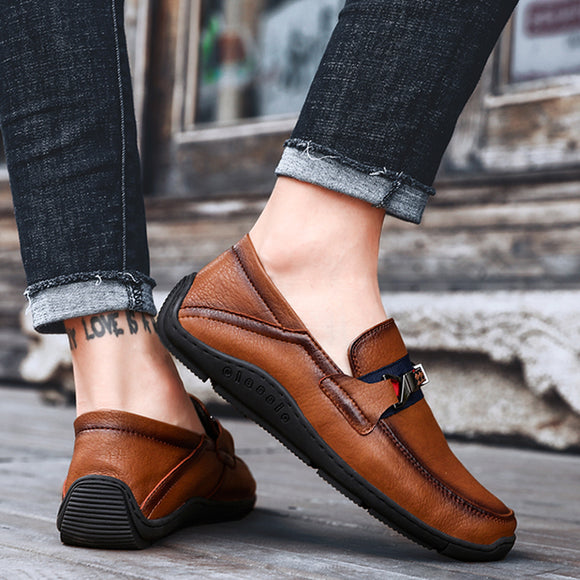 Men's Suede Flat Breathable Loafers