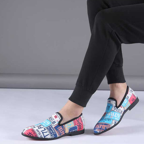 Men's New Colorful Design Fashion Loafers