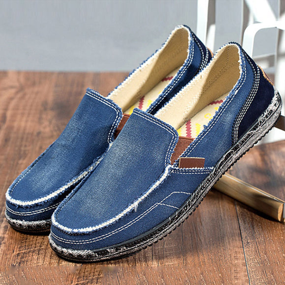 Shawbest-Men Classic Washed Loafers