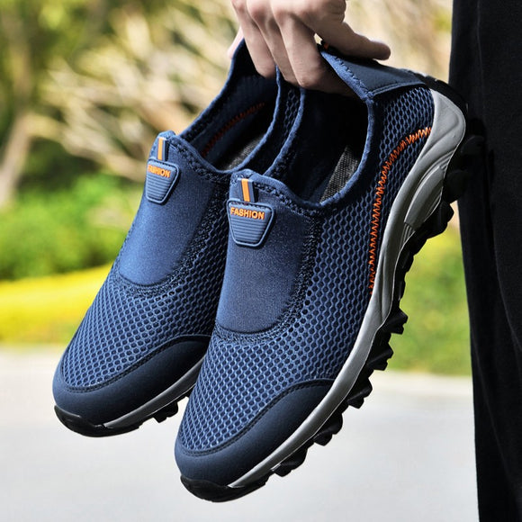 Shawbest-Summer Mesh Men Casual Shoes