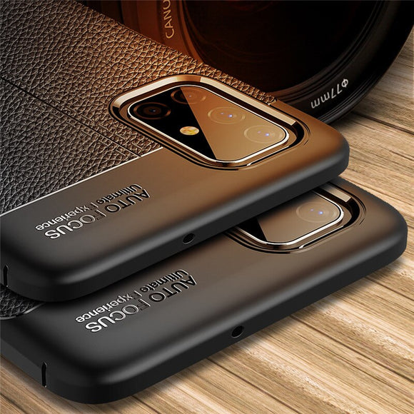 Shawbest - Luxury Silicone Soft Silicone Case For Samsung Galaxy Note 20 Ultra