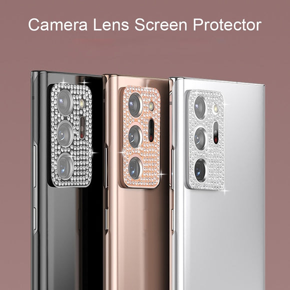 Bling Diamond Rear Lens Protection For Samsung S20 Note 20 Ultra