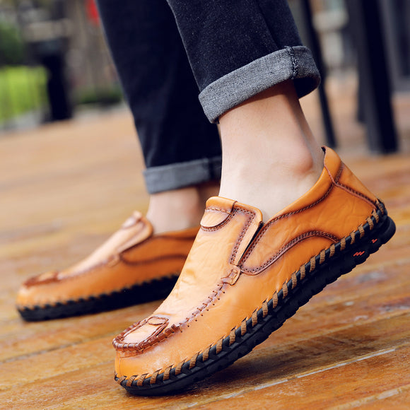 Men Fashion  Soft Moccasins Flats Loafers