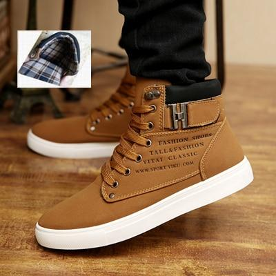 Shawbest - Autumn Winter Hot Sale Casual Mens Boots